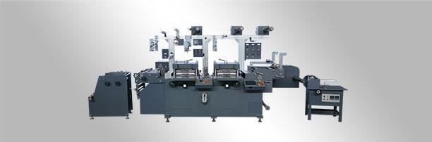 WJMQ-350 双座自动不干胶商标模切机