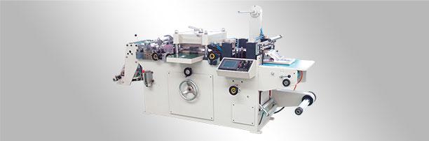 WJMQ-350A 自动不干胶商标模切机